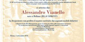 Global Marketing Comunicazione Made in Italy Master Alessandro Vianello Business Coach